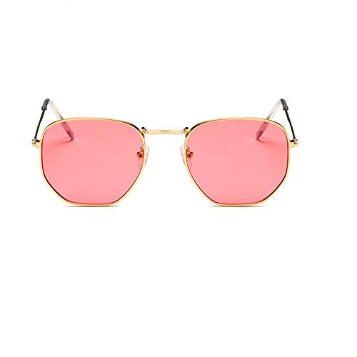 small square sunglasses Street beat the colorful sunglasses retro sunglasses
