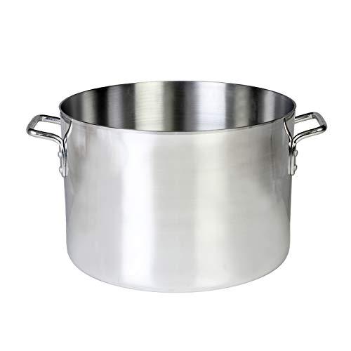 - 40 quart Aluminum sauce pot mirror finish, comes in each
