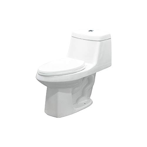 - Transolid TBTS-1495-01 ADA Toilet 28-In L x 18-in W x 33-in H White