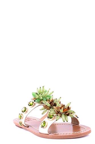 Tory Burch Sandalias de Vestir Para Mujer Verde Verde It - Marke Größe