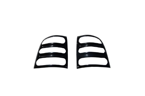 Auto Ventshade 36307 Slots Taillight Covers for 2002-2007 Jeep (Auto Ventshade Slots Tail Light)