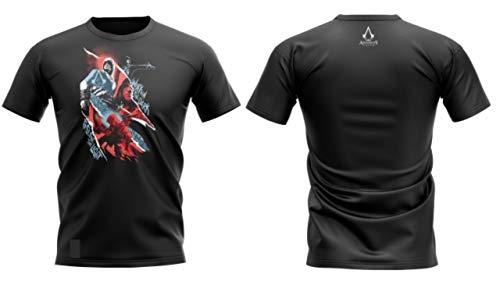Camiseta assassin's creed - work in the dark to serve the light - banana geek gg