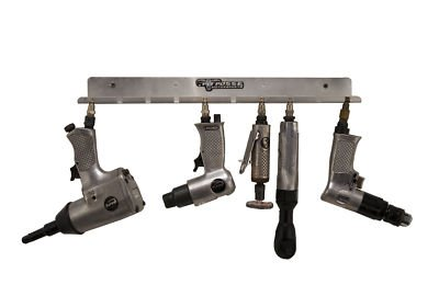 Pit Posse Air Tool Pneumatic Rack Holder For Trailer - Shop - Garage Organizer - Made Of Aluminum