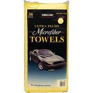 Kirkland Ultra Plush Microfiber Towels (36 Pack)