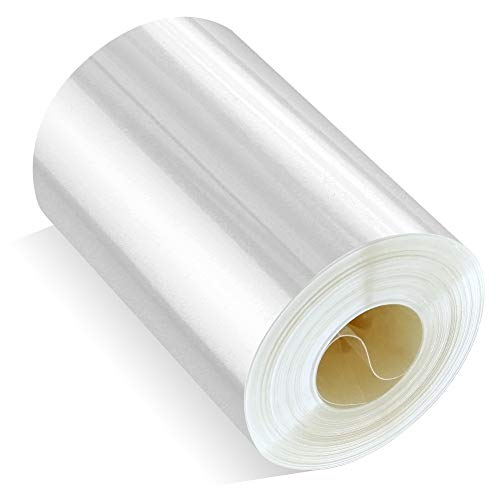 Cake Collar, GUGUJI Chocolate Mousse and Cake Decorating Acetate Sheet CLEAR ACETATE ROLL 125 Micron (2.4 X 394 inch)