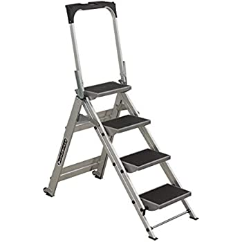 Amazon Com Louisville Ladder 4 Foot Step Stool 300 Pound