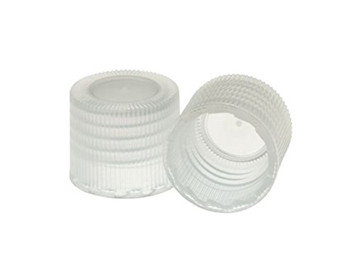 (Kimble 73805B-18415 Polypropylene Screw Thread Cap without Liner, Natural, 18-415 GPI Thread Finish (Case of 500))