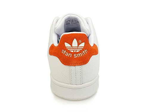 adidas Men's Stan Smith Low-Top Sneakers, White Black