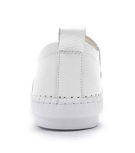 Para De 1to9 Vestir Zapatos Mujer Blanco Bqwt7wx