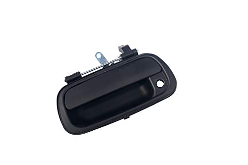 - Tailgate Handle Latch with Keyhole - Replaces 690900C010, TO1915110, 690900C-030C0, 80866 - Fits Toyota Tundra 2000, 2001, 2002, 2003, 2004, 2005, 2006 - Liftgate Latch Handle Trim with Clips