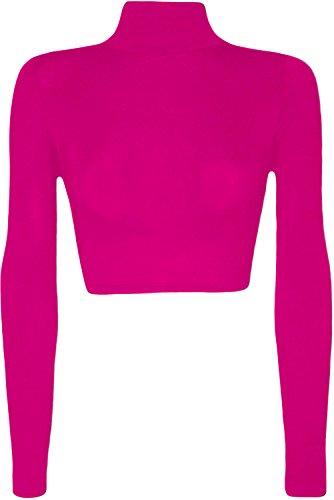 Glossy Look - Camiseta de manga larga - para mujer Cereza