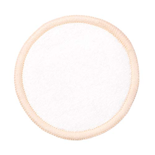 Paula's Choice Reusable Makeup Remover Pads, Eco-Friendly Cotton & Bamboo Pads for Toner & Exfoliants, Includes Washable Bag for Laundry & Storage, 10 Count