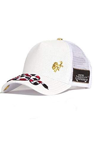 Red Monkey Snake Top White New Unisex Fashion Trucker Cap Hat