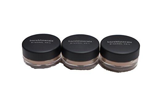 Veil Mineral Bareminerals (Bare Escentuals Tinted Mineral Veil BareMinerals .02 oz/.57 g. Set of 3)