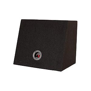 BAASSFX MDF Subwoofer Box Without Speaker (ATOM-BLK120_Black)