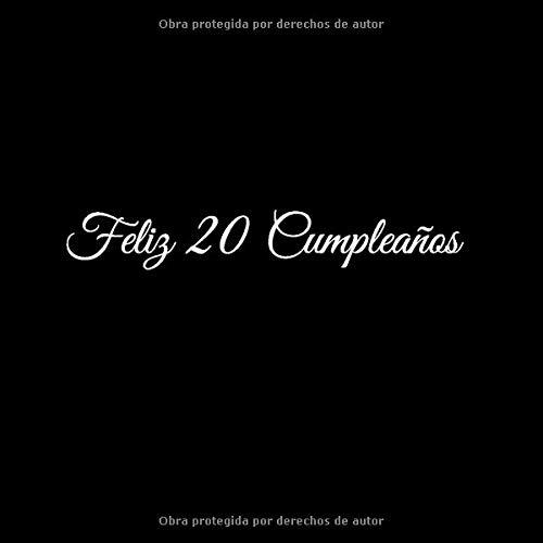 Amazon.com: Feliz 20 cumpleaños: Libro De Visitas 20 Años ...