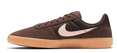 Nike Men's SB Team Classic Baroque Brown/Washed Coral-Gum Yellow Skate Shoe 11.5 M US