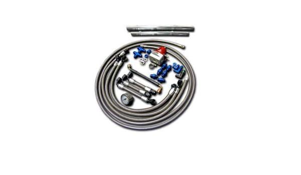 Aam competencia 350z de/G35 de fase 1 Kit * * Retorno de combustible de motores sólo * *: Amazon.es: Coche y moto