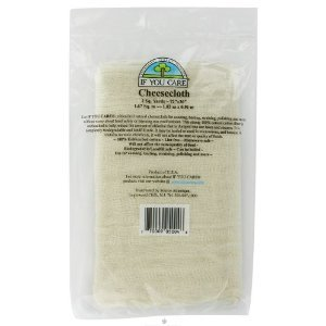 Iyc Cheesecloth Unbleache Size 2ct Iyc Cheesecloth Unbleached 2sy