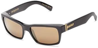 VonZipper Fulton Square Sunglasses,B.S. & Black Satin,One Size