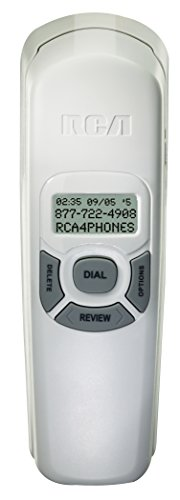 RCA 1104 1WTGA Corded Slim Line Telephone