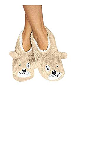 Slippers Dreams (Faceplant Dreams Dog Tired Footsies by (Medium))