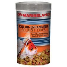 Goldfish Aquarium Flake Food - Marineland Color Enhancing Goldfish Food Flakes, 9.88 Oz