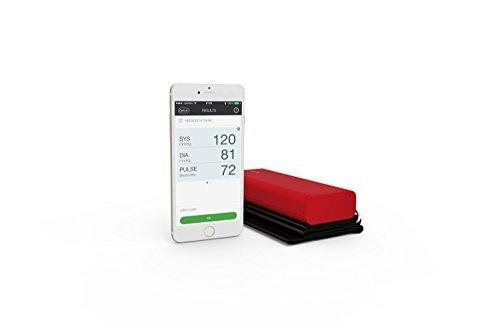 QardioArm Wireless Blood Pressure Monitor  Lightning Red by