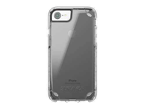 Griffin iPhone 7 & 6s/6 Case, Survivor Strong, Slim Protective Case,7ft Drop Protection, Smoke Tint