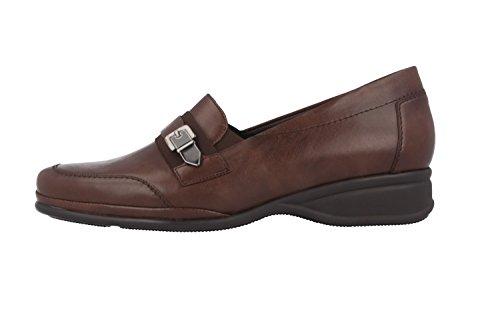Semler Ria - Damen Slipper - Braun Schuhe in Übergrößen