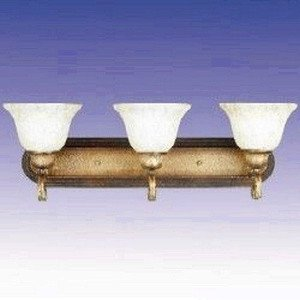 Maxim 85264FIKB, Cosmopolitan PL Fluorescent Bath Vanity, 3 Light, 13 Watts, Kentucky (Kentucky Bronze Vanity Light)