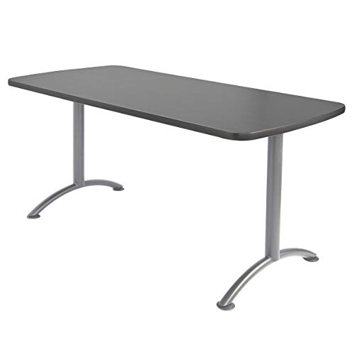 Iceberg ICE69217 ARC 5-foot Rectangular Conference Table, 30'' x 60'', Graphite/Silver Leg by Iceberg (Image #3)