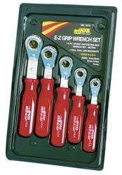 Kastar Kh5476 5Pc Met E-Z Grip Offset Box Ratchet Wrench - Kastar Ratchet