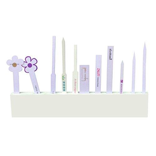 PigBoss Perfume Test Paper Acrylic Holder Fragrance Strips Display Stand Perfume Blotter Holder (1)