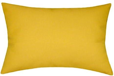 Amazon.com: Sunbrella interior/exterior Solid almohada 12 x ...