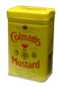 Mustard Powder, Dry English (Colmans) 2 oz (57 g)