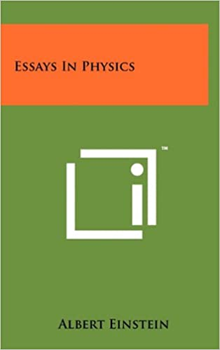 com essays in physics albert einstein books