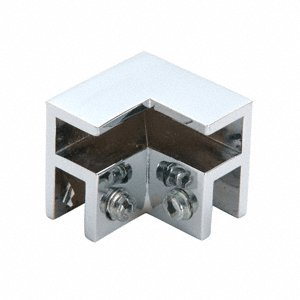 CRL Chrome 2-Way with Top Junction Clamp