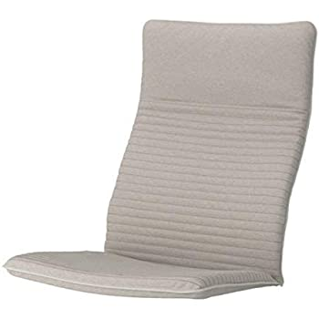 Amazon.com: IKEA POANG cojín de silla, knisa negro (solo el ...