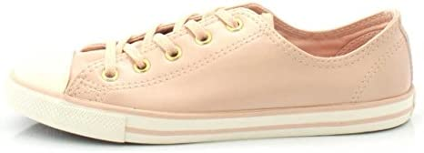 Converse Womens 557995C Chuck Taylor All Star Dainty Ox Pink
