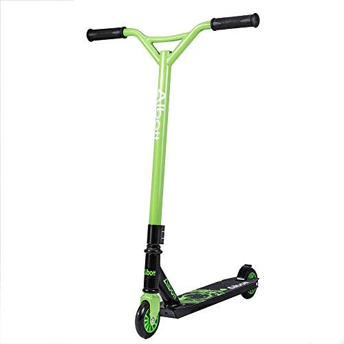Masione Sports Pro Stunt Trick Push Scooter 360 Degree Fixed Bar for Kids...