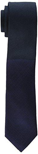 Calvin Klein Men's Pebble Tip Panel Skinny Tie