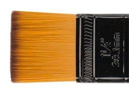 Ebony Splendor Brush Short Handle Wash with Paddle Handle 1.5