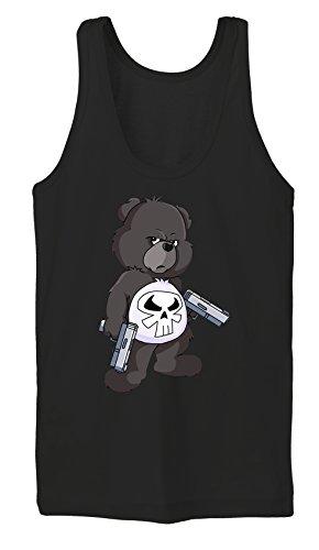 Punisher Bear Tanktop Girls Noir Certified Freak