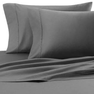 Soft and Smooth 600 Thread Count Egyptian Cotton Solid Elephant Grey King/California King Duvet Set
