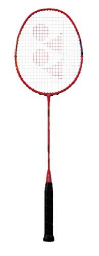 YONEX Duora 77 (2019) Badminton Racquet (Red/Yellow/Black) - Prestrung