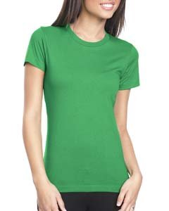 Women's boyfriend tee style t-shirt. (Kelly Green) (Boyfriend Green T-shirt)