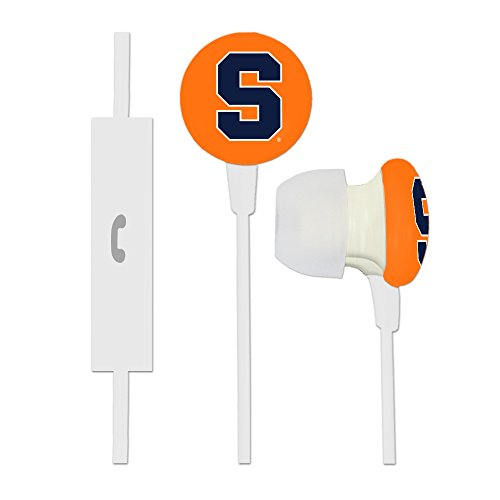 Syracuse Orange Ignition Earbuds + Microphone by AudioSpice