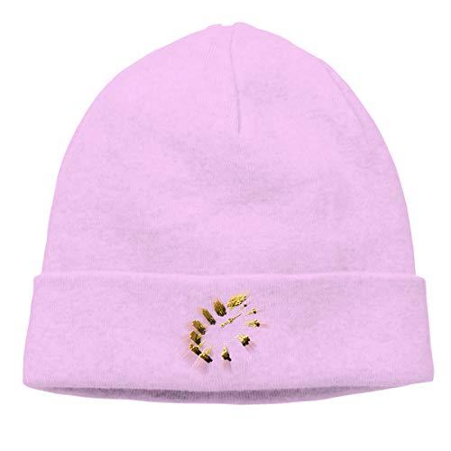 Adult Skull Cap Beanie Lighting Target Knitted Hat Headwear Winter Warm Hip-hop Hat]()