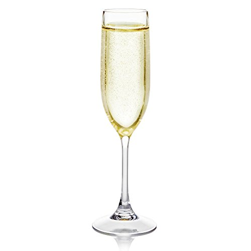 Fake Champagne in Flute - Great for Home Staging - Gift for Champagne Lovers - Fake Drink ()